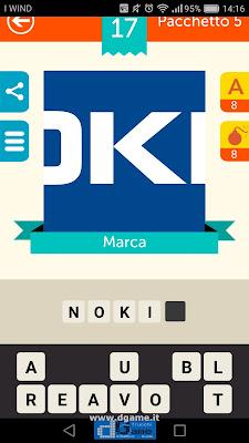 Iconica Italia Pop Logo Quiz soluzione pacchetto 5 livelli 17-75