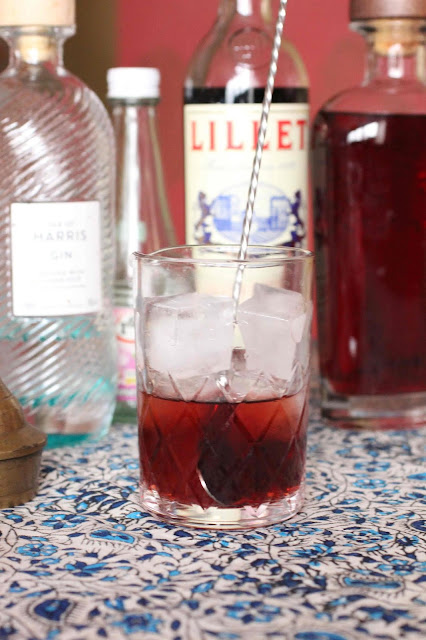 cocktail lillet rouge