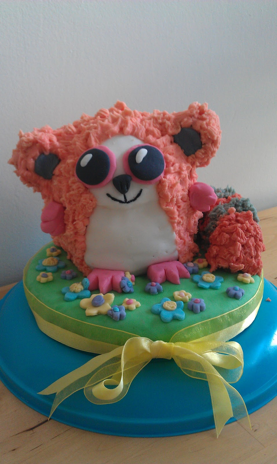 Simple Things A Beanie Baby Birthday Cake
