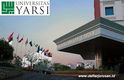 Daftar Fakultas dan Jurusan Universitas Yarsi Jakarta