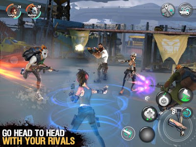 Game Dead Rivals - Zombie MMO Mod v0.2.5 Apk 3