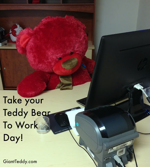Take Your Teddy Bear To Work