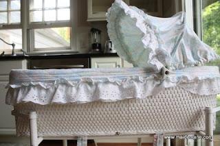 Custom Sewing – Bassinet Set
