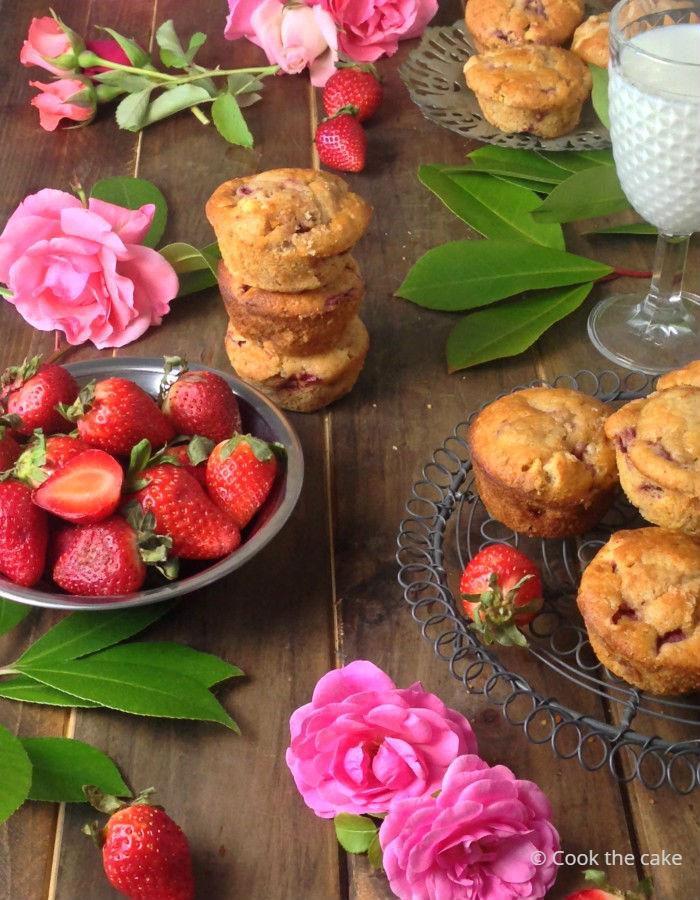 strawberry-white-chocolate-muffins, muffins-de-fresas-y-chocolate-blanco