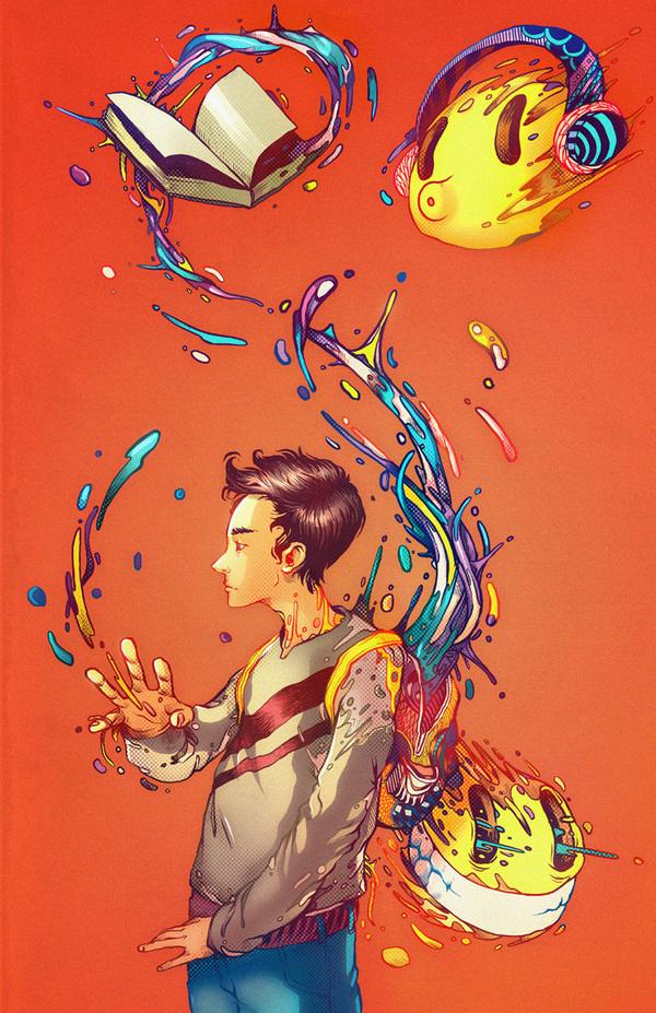 Raul Urias. Взрыв цвета. 11