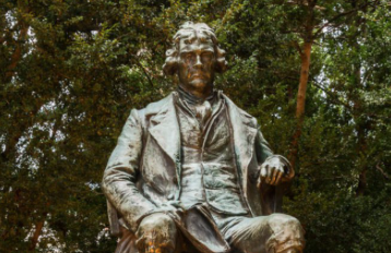 Thomas Jefferson Statue Branded With 'Racist + Rapist' On His Birthday