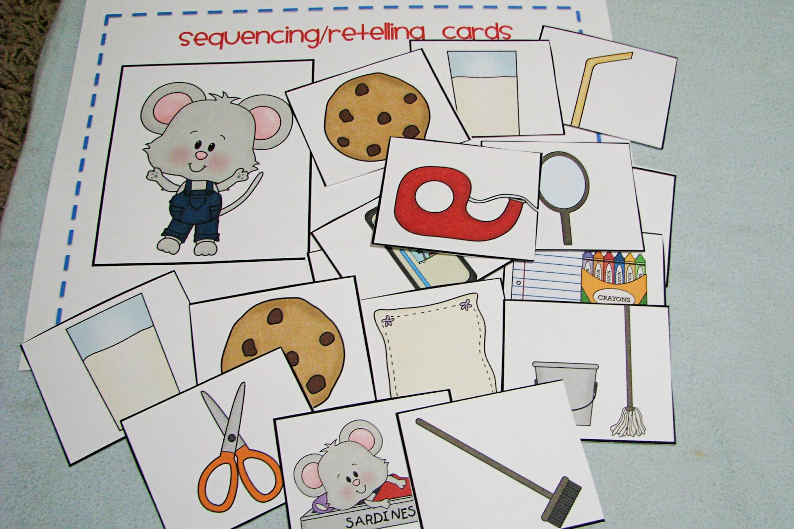 Mommy S Little Helper If You Give A Mouse A Cookie Preschool Theme