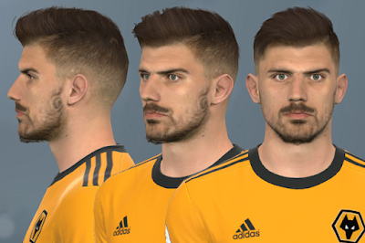 PES 2017 Faces Rúben Neves by WER Facemaker