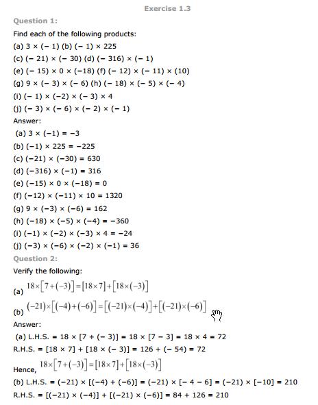 Cbse 7th Std Maths Book