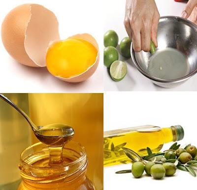 Hướng dẫn cách tăng cân bằng trứng gà, mật ong và chanh