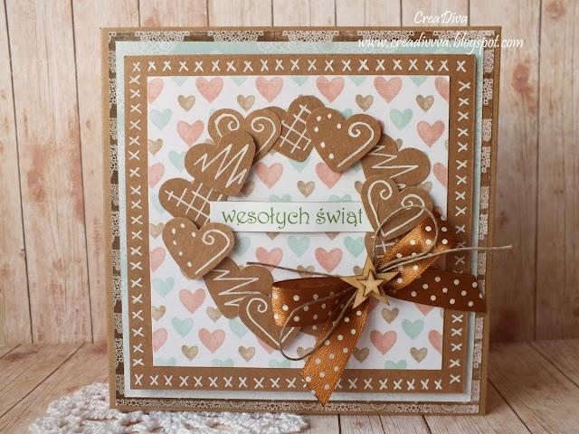 Pierniczkowa kartka / Gingerbread Card