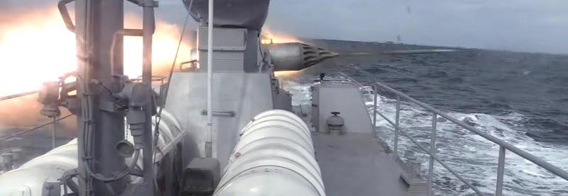 Кентаври стріляли ракетами по береговим цілям