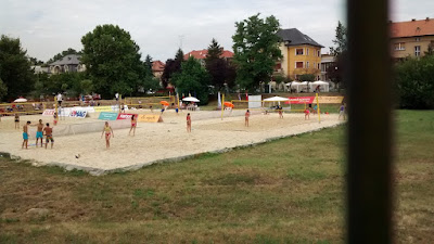 volley playa parque timisoara rumania