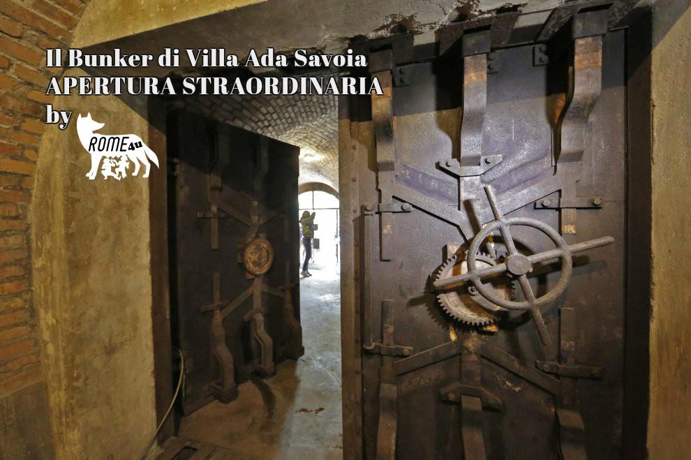 Visita guidata Sabato - 30 Giugno ore 19:00 - Il Bunker di Villa Ada Savoia