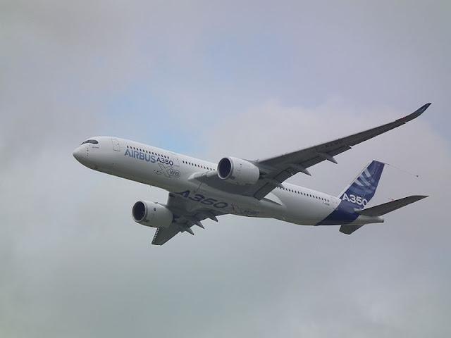 Gambar Pesawat Airbus A350 01