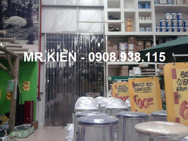 Rèm nhựa PVC ngăn lạnh kho thực phẩm Ân Nam