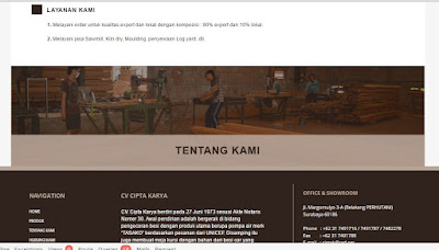 Jasa Pembuatan Website Drag and Drop