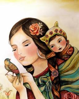 pinturas-con-temas-indígenas-arte-en-oleo