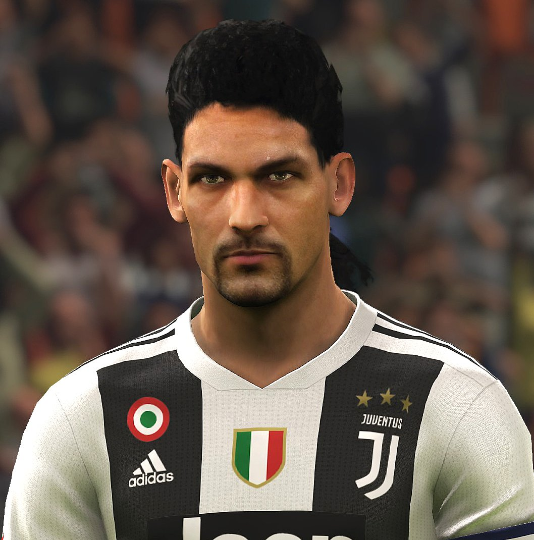 Pes 2019 Faces Roberto Baggio By Pes Fan Faces Pes Id