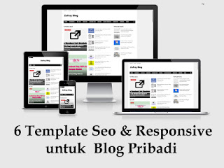 6 Template Blog Seo Responsive untuk Blog Pribadi