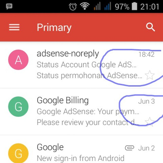 How to list the latest Google Adsense First and Reset the starting times in the List