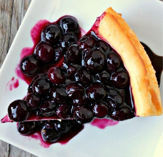 Yummy Blueberry Cheesecake