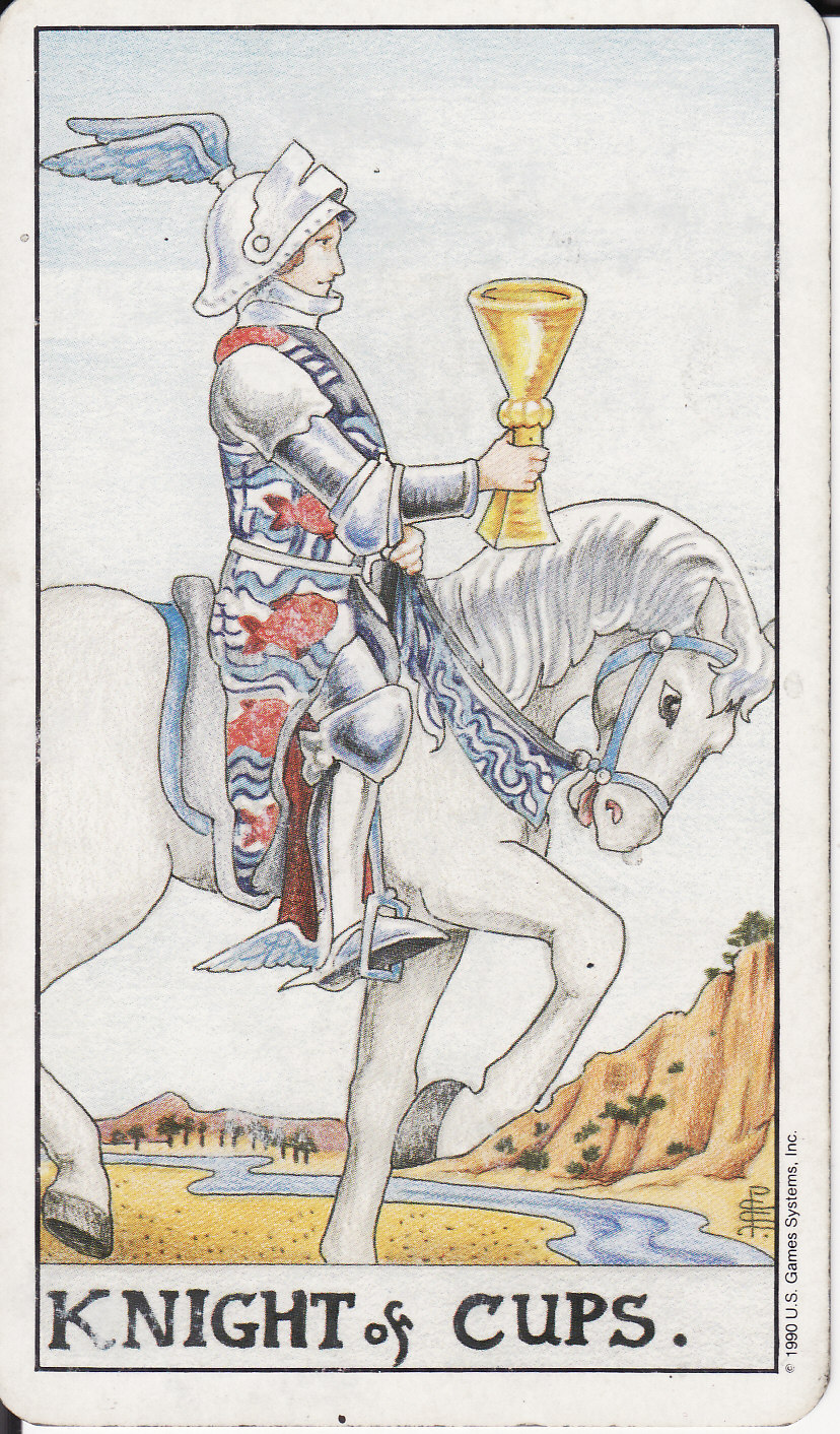 TAROT - The Royal Road: KNIGHT OF CUPS