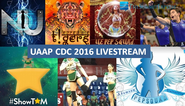 UAAP Cheerdance Competition CDC 2016 video