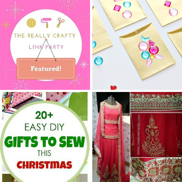The Really Crafty Link Party #40 featured posts