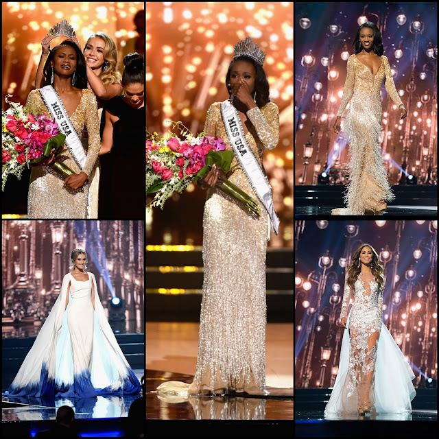 "SASHES AND TIARAS.....Miss USA 2016 Final Competition: Winner Deshauna Barber ""Miss District of Columbia USA"" and The EVENING GOWNS Recap!"