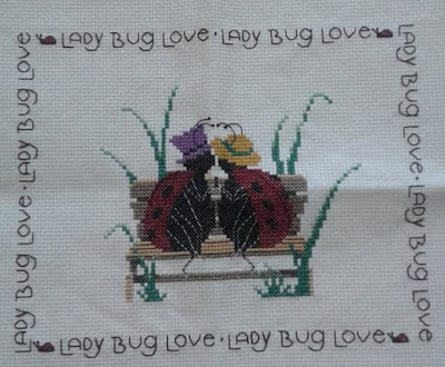 Lady Bug Cross Stitch