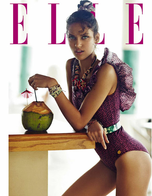 Fashion Model, @ Dalianah Arekion - Elle Spain, June 2016