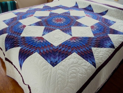 Broken Star Quilt - Free Pattern