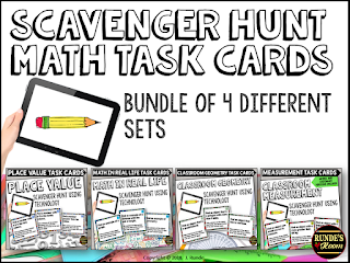 Runde's Room:  Math Scavenger Hunts