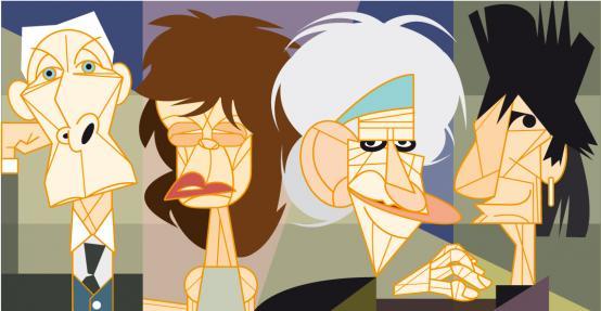 Rolling Stones por André Hippertt