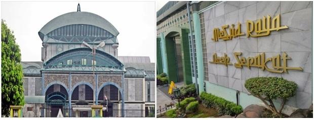 Wisata Religi di Masjid Raya Aceh Sepakat