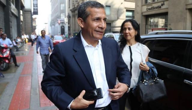 Ollanta Humal y su mujer
