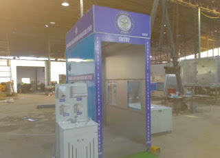 Full Body Disinfection Chamber- At VRDE Ahmedabad (DRDO Laboratory)
