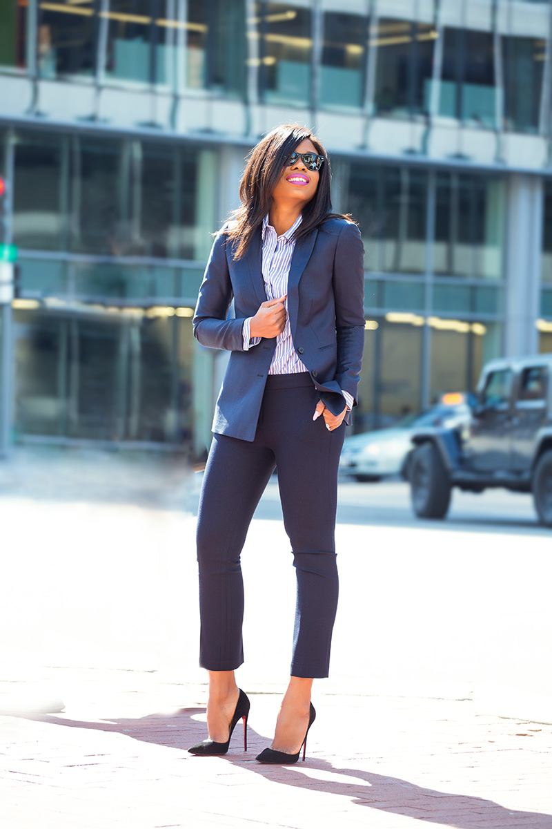 suit and blazer, Office hours, 9 to 5 chic, 9 to 5 style, Citizens mark blazer, work style, office style, DC work style, www.jadore-fashion.com