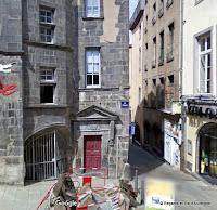 Clermont-Ferrand 2016  rue des Chaussetiers rue Terrasse