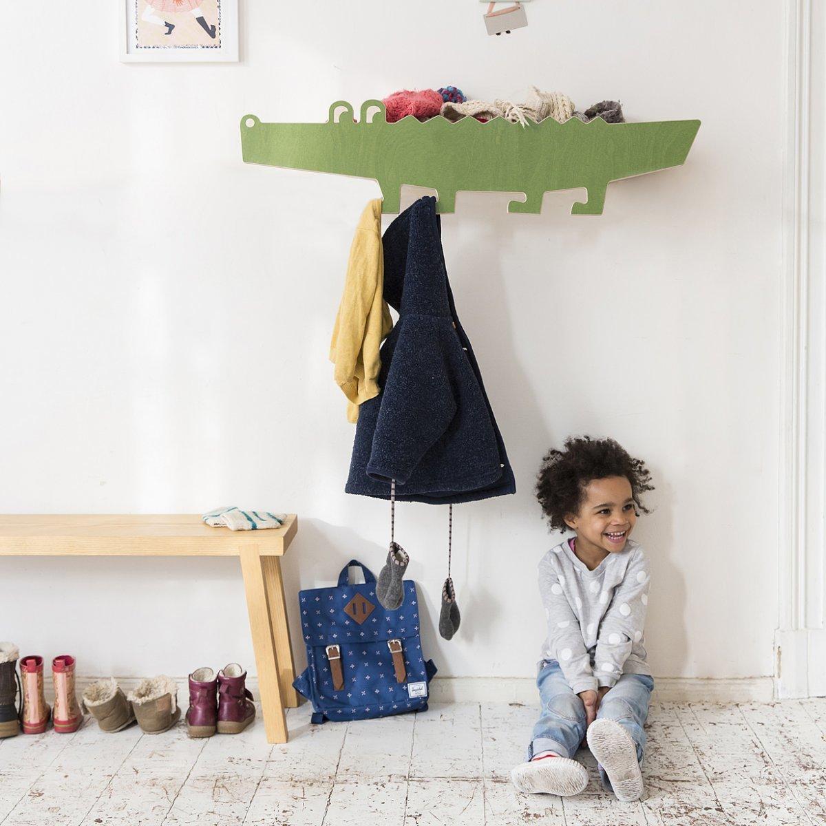 Estante cocodrilo - decoración infantil