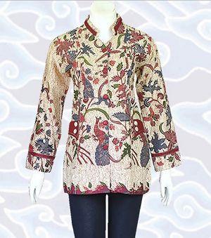 Model Batik Formal Wanita Modern