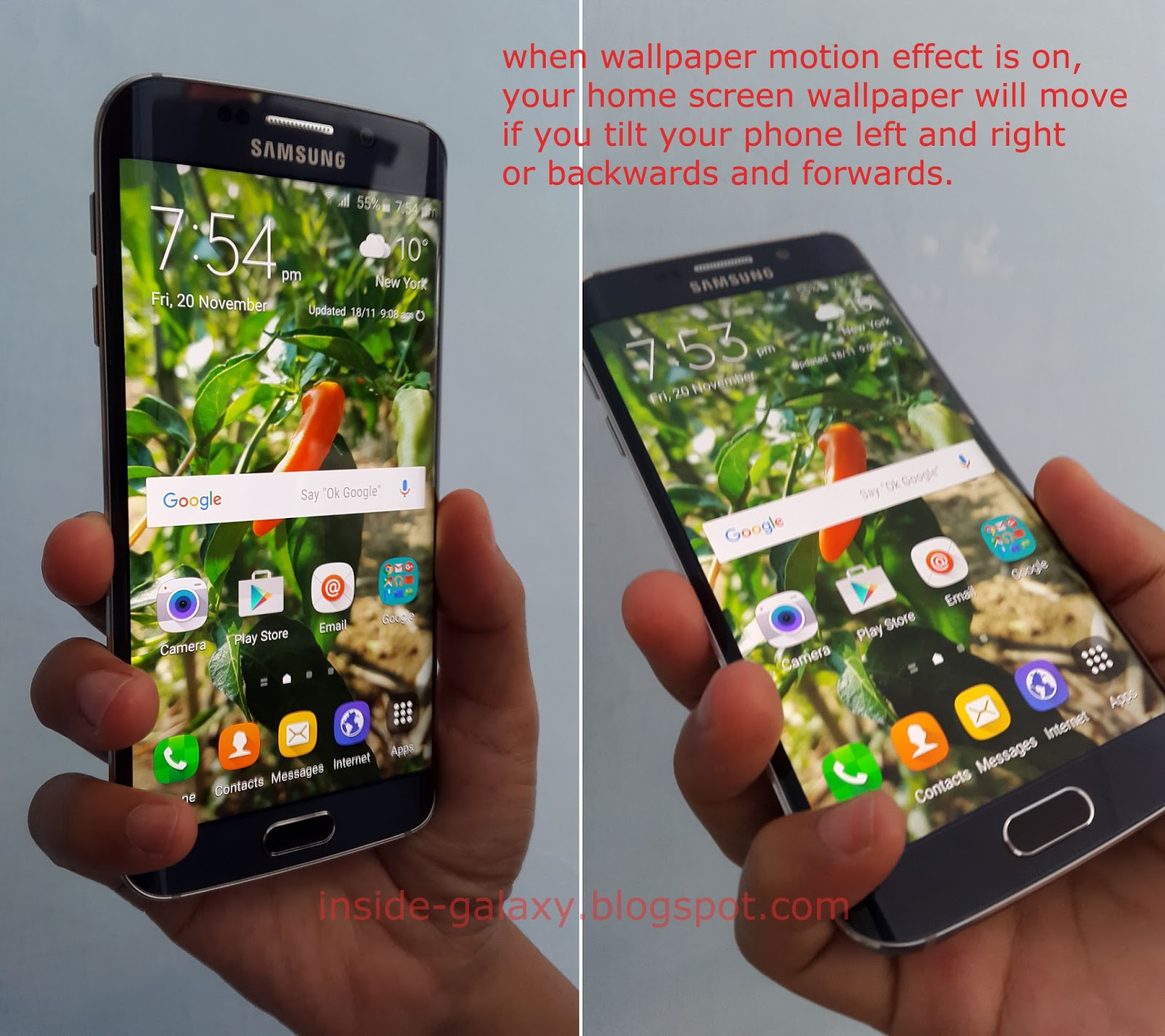 Inside Galaxy Samsung Galaxy S6 Edge How To Enable And Use
