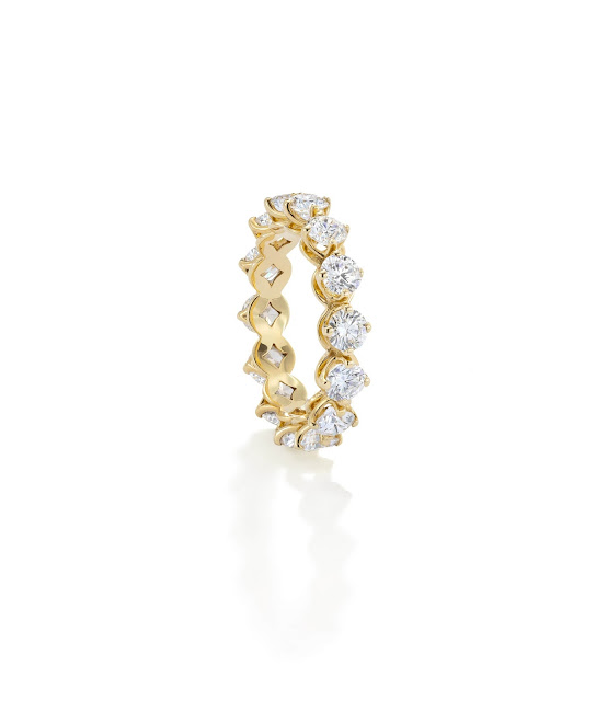 Forevermark Stackable Eternity Band set in 18k Yellow Gold 3.00 ctw