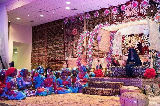 zahra buhari traditional wedding