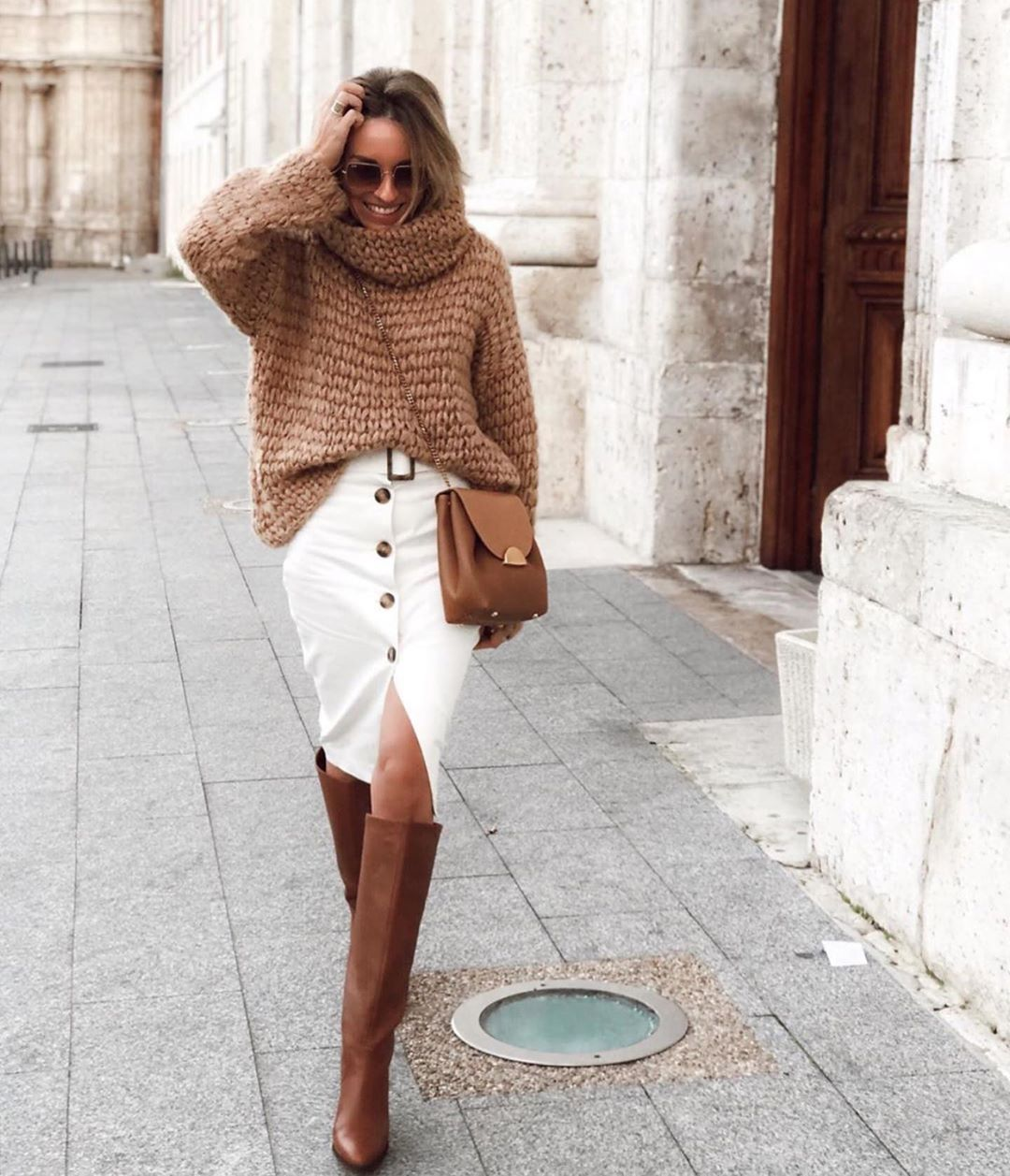We Love This Easy Business-Casual Look