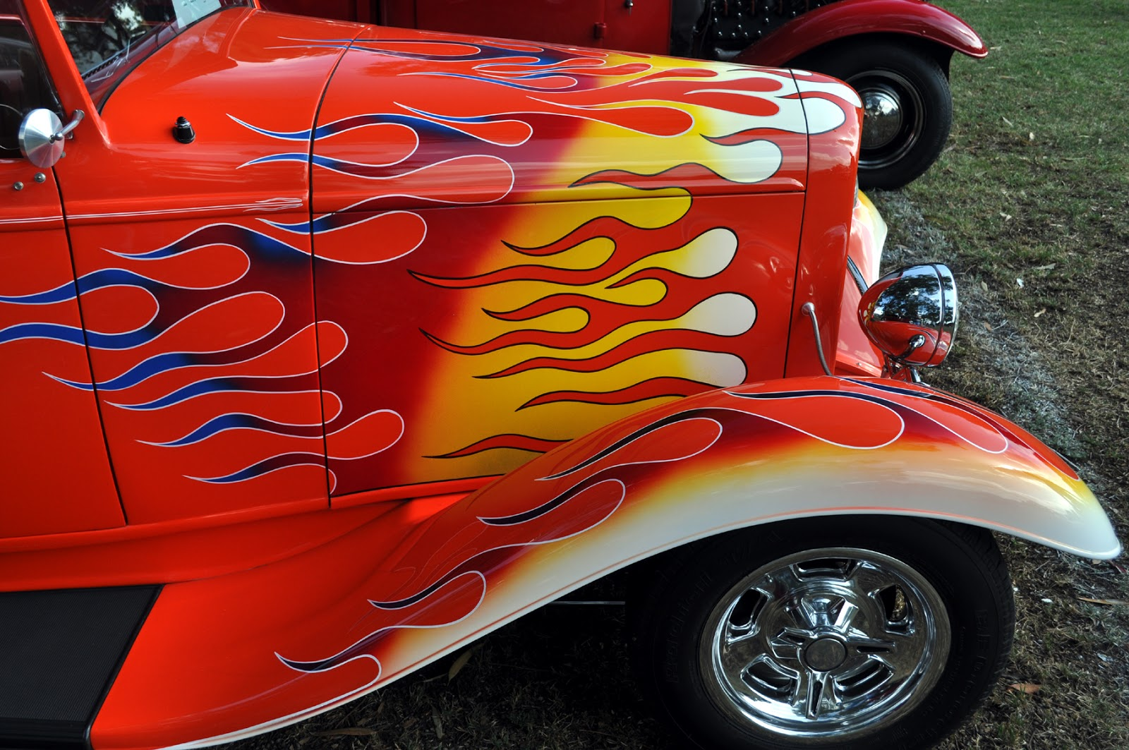 """Car Flames: Just A Car Guy: Roth Flames... Has To Be Ed """"Big Daddy"""