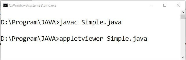 Compile and Run process