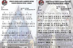 Update Lagu Hymne dan Mars Gereja Santo Albertus Agung