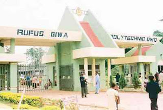 List of NUC, NBTE and NCCE Accredited Courses in Rufus Giwa Polytechnic [RUFUSPOLY]